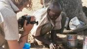 Shooting a documentary in Northern Ghana (2006)