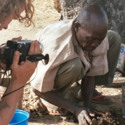 Shooting a documentary in Northern Ghana (2006)