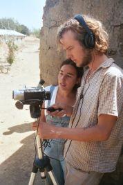 Shooting for a documentary in Ghana (2006)
