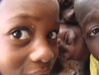 Curious boys in Langbensi, Northern Ghana (2009)