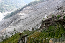Landslide in Nepal (2015)