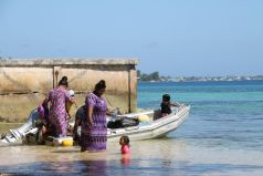 Boats are an important asset in the Marshall Islands