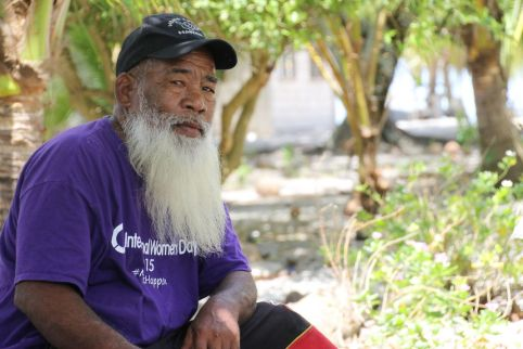 Old man on Mejit Island